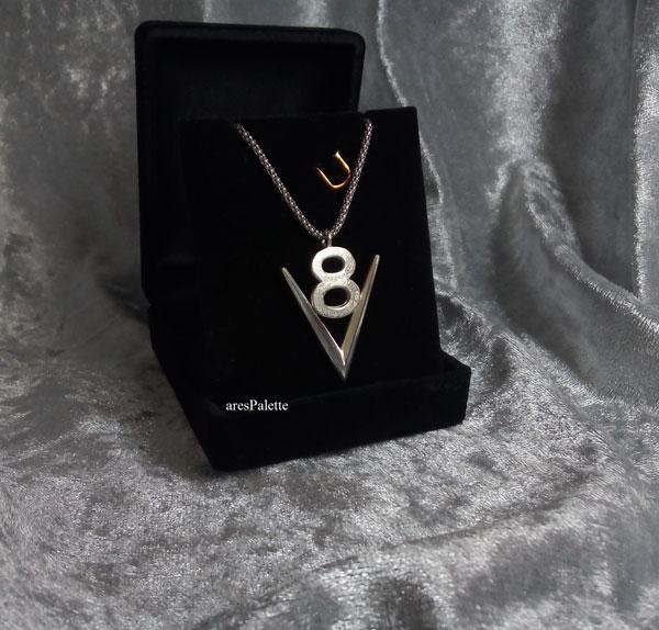 v8 necklace