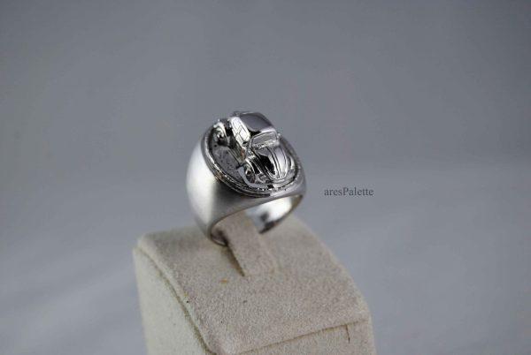 vw beetle volkswagen beetle beetle ring vw jewellery vw ring 2 scaled 1