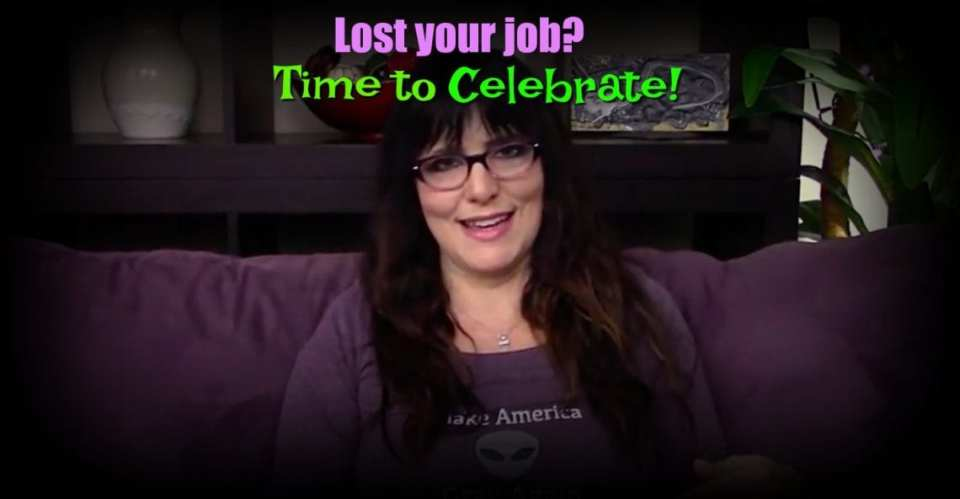 Kimberly Darwin talks about celebrating when you lose your job
