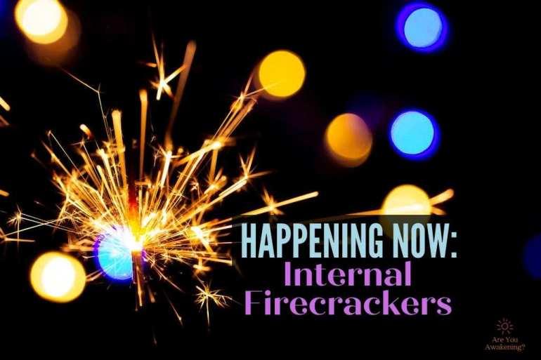 firecracker igniting