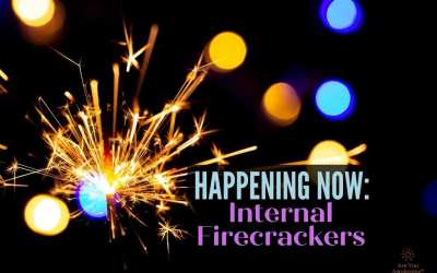 firecracker igniting