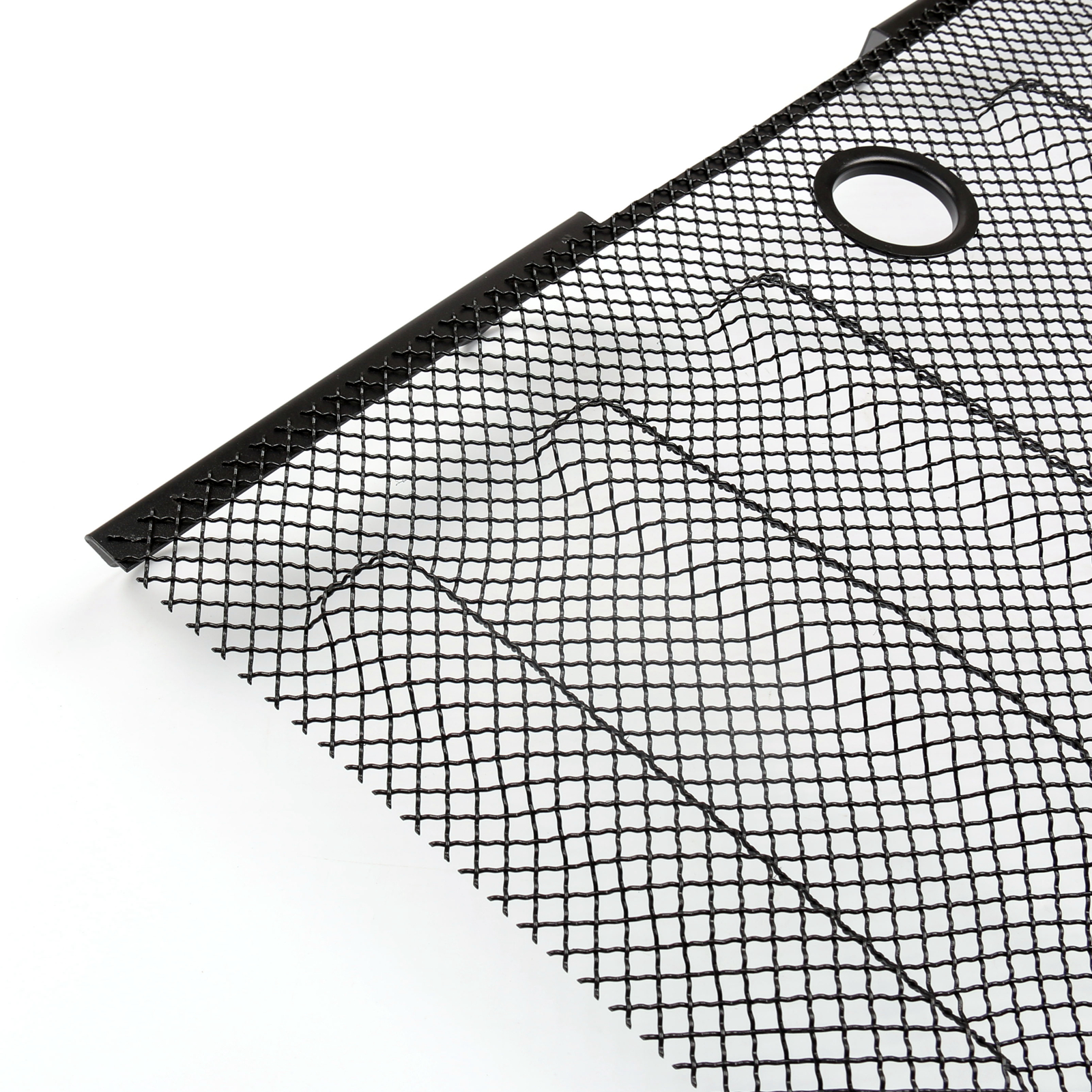 Front Lock Hood Grille 3d Mesh Grill Insert For 07 16 Jeep
