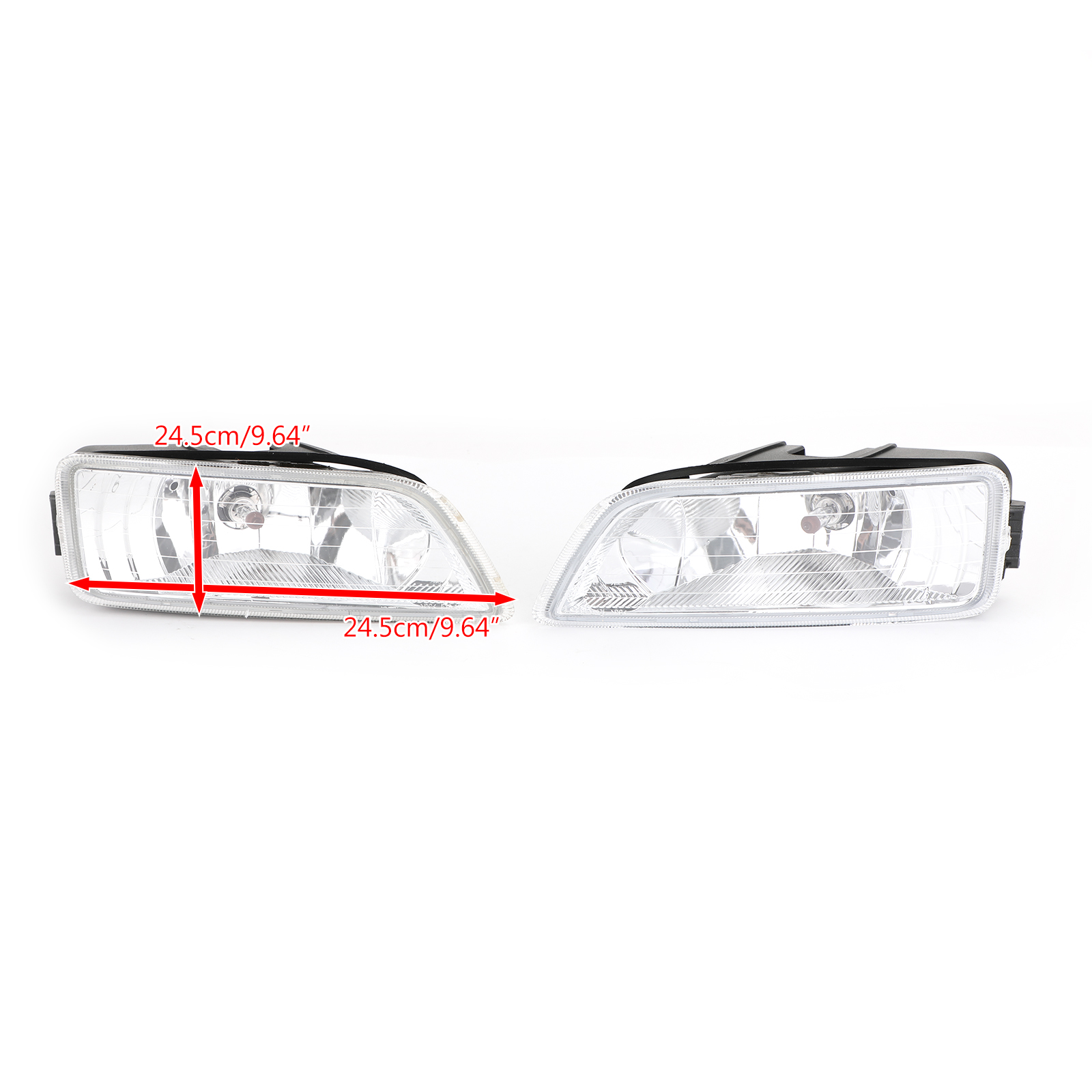 2x Clear Fog Lights W Wiring Switch Fits 03 07 Honda