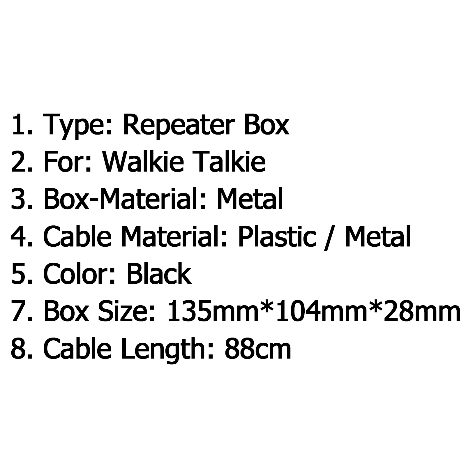Sd 2 Digital Repeater Box Dmr Walkie Talkie Cable Two Way