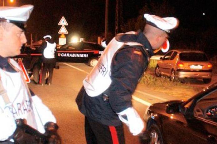 Carabinieri - Posto di blocco