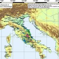 Terremoto magnitudo 3.7 in Romagna