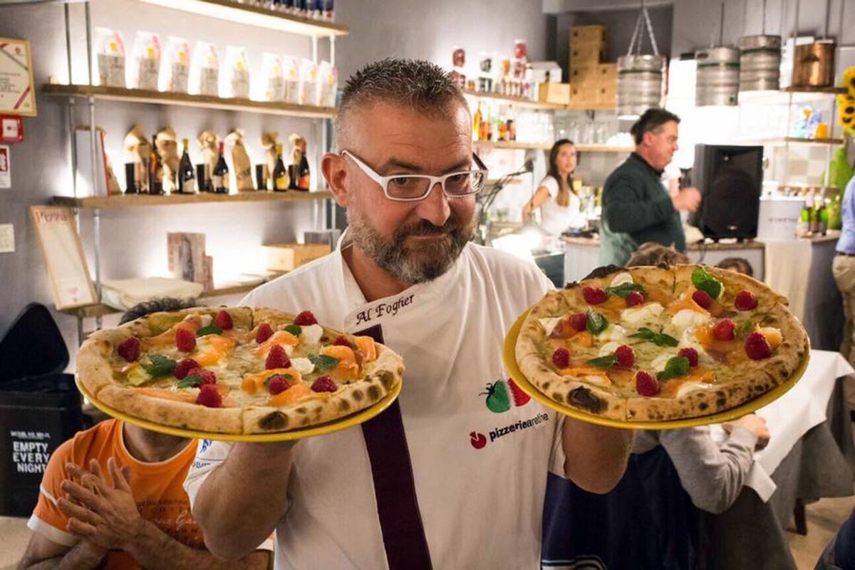 L'aretino Renato Pancini è il terzo miglior pizzaiolo italian