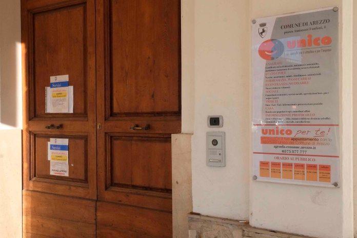 Sciopero allo sportello unico del Comune di Arezzo