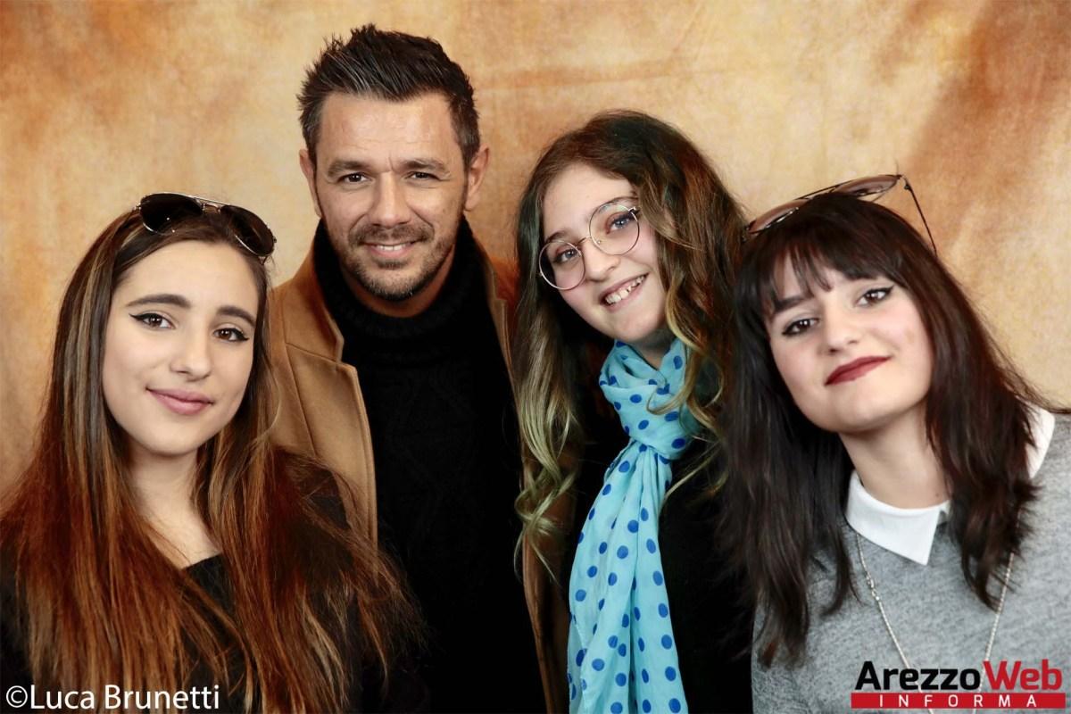 Roberto Emanuelli e le lettrici aretine -   foto