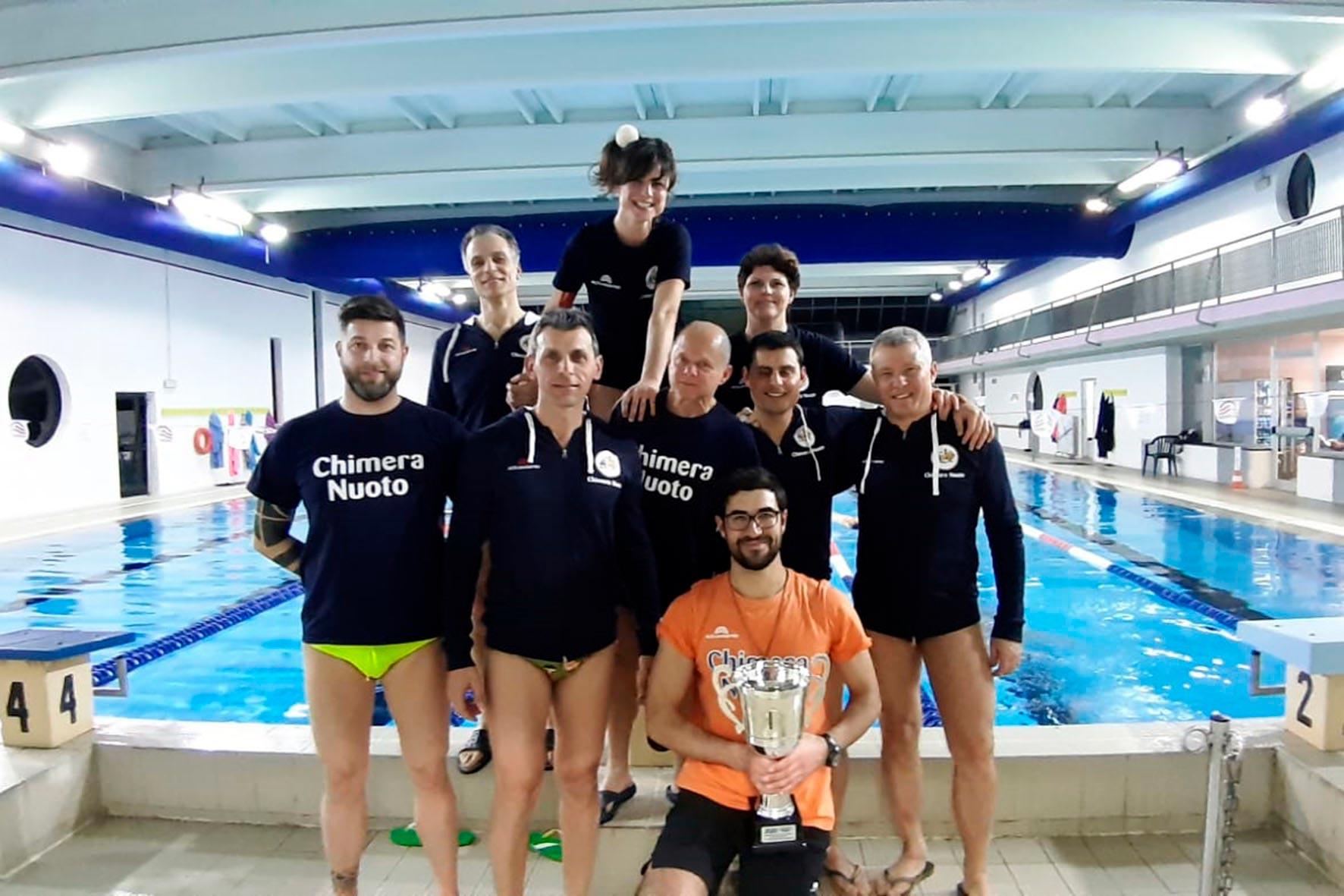 7c19b8067b63 La Chimera Nuoto trionfa ai Campionati Umbri Master - ArezzoWeb
