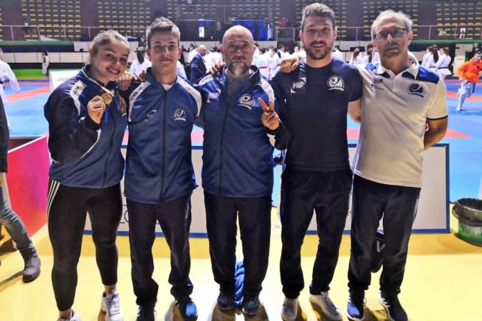 Accademia Karate Casentino - Liguri, Cherubini e staff tecnico (1)