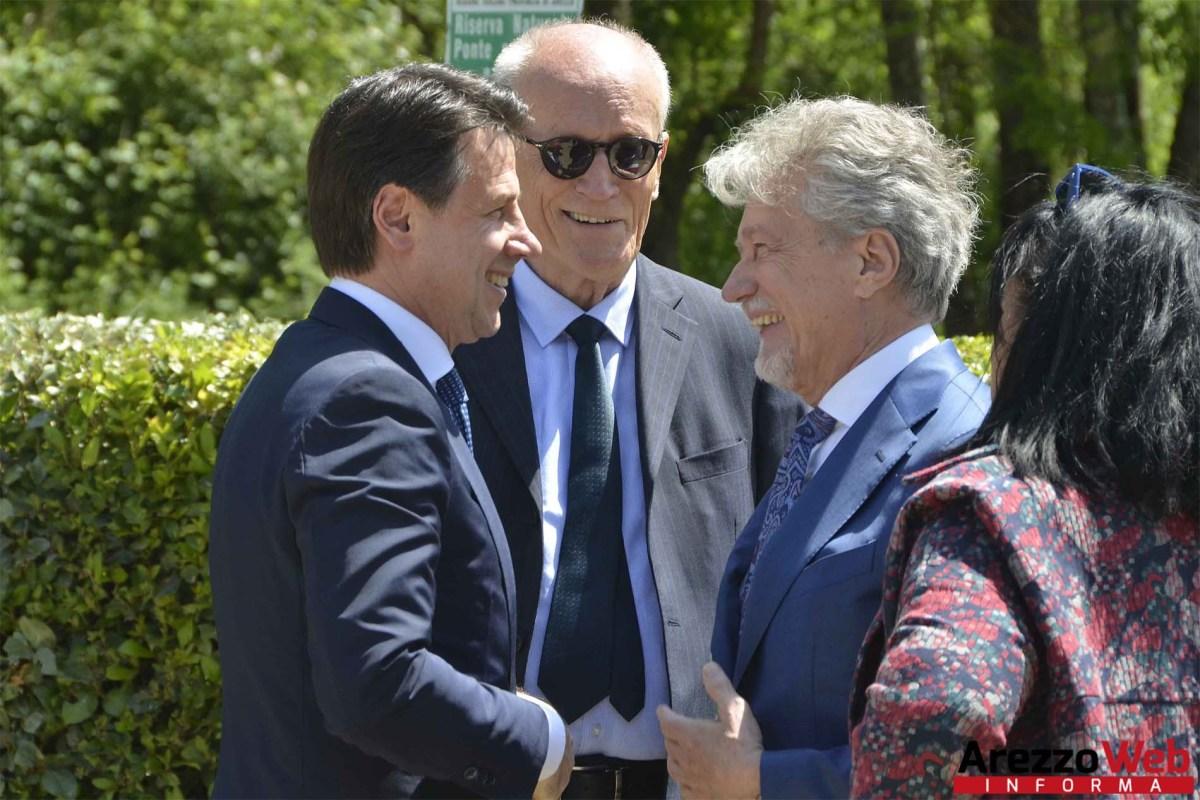Il Presidente del Consiglio Giuseppe Conte in visita a Rondine - foto