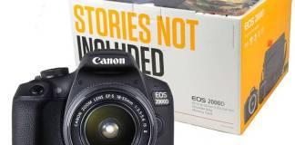 reflex Canon EOS 2000D
