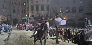la settimana di Giostra organizzata dal Quartiere di Porta Crucifera