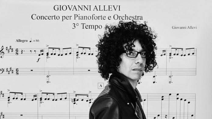 Giovanni Allevi in concerto gratuito all'Outlet Village, sabato 7 settembre