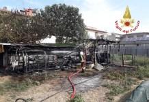 incendio annesso agricolo