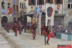 139ma Giostra del Saracino - Sfilata - 076