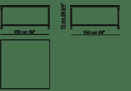 arflex match table small table
