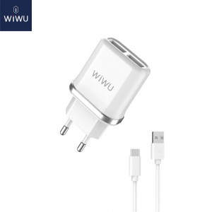 JOYROOM L-115 Wall Charger Adapter USB EU With Micro USB Cable