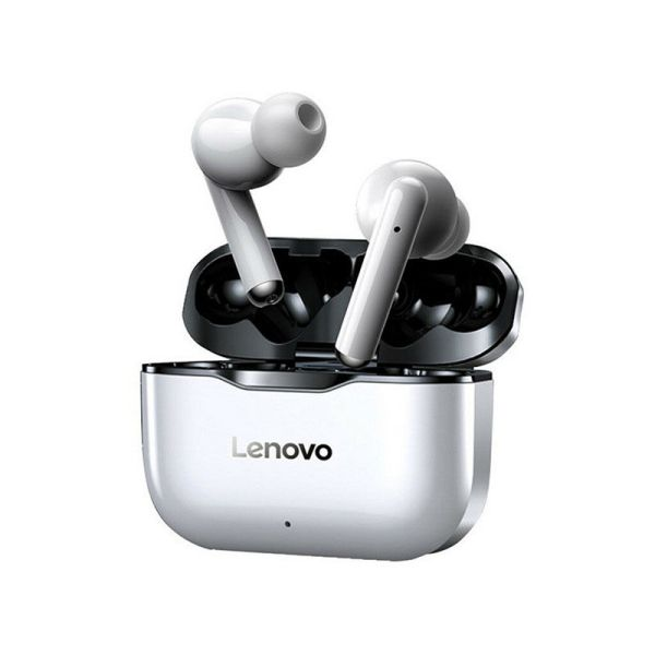 Lenovo LivePods LP1 True Wireless Earbuds Style: In-Ear Vocalism Principle: Dynamic Control Button: Yes Active Noise-Cancellation: Yes Communication: True Wireless Volume Control: Yes Sensitivity: 1dB Number Of Drivers: 2 Earcups Type: Semi-open Bluetooth Version: 5.0 Driver Diameter:10mm Waterproof: Yes Frequency Response Range: 20 - 20000Hz Charging Method: Charging case