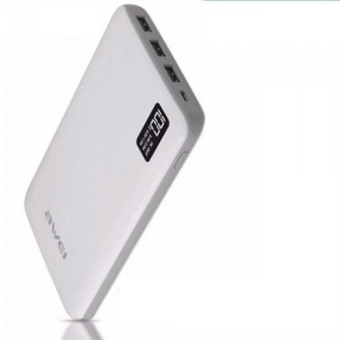 Awei P56k Power Bank 30000mah 3Port LED Display