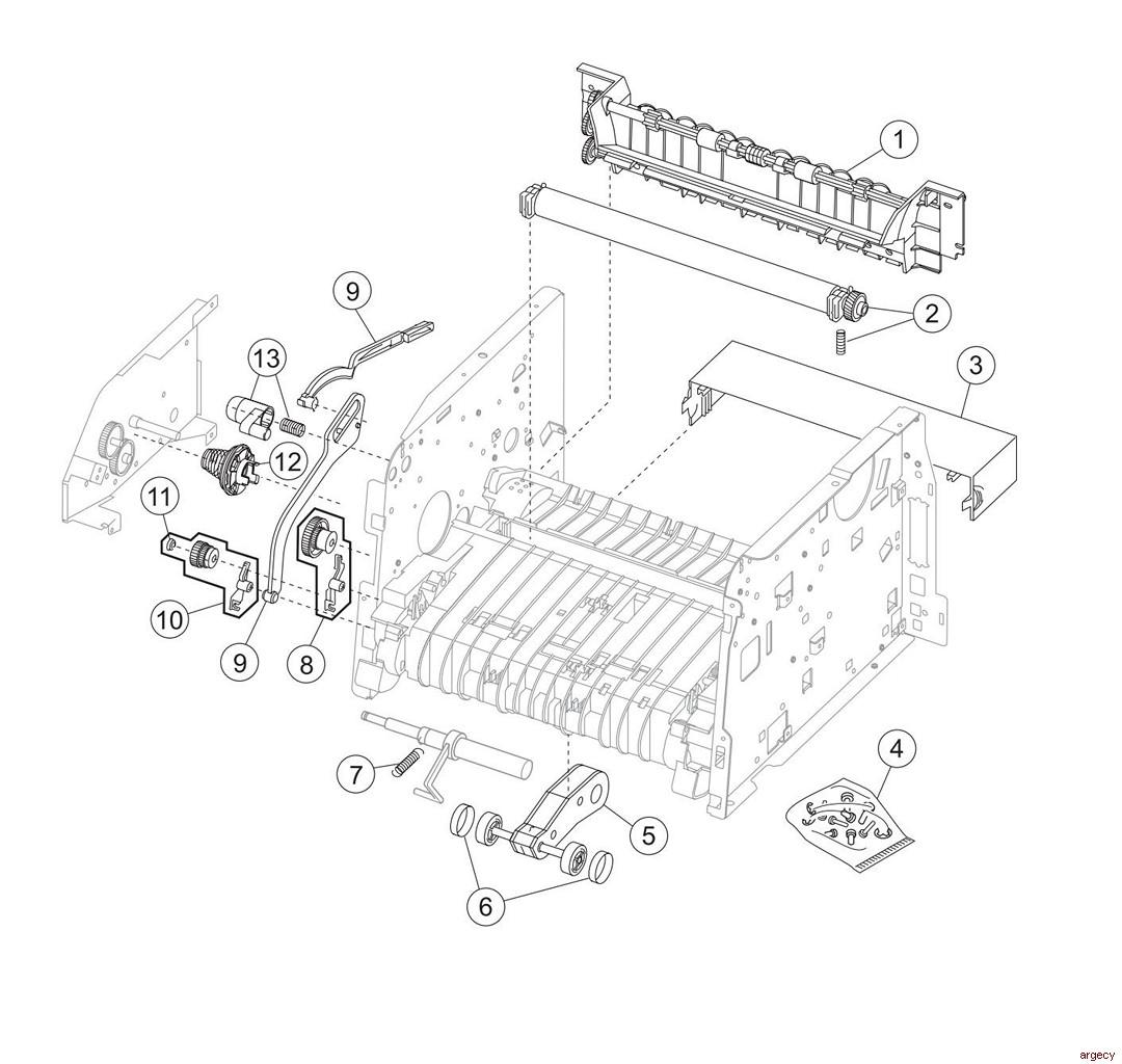 Lexmark E238 E240 E240n E340 E342n St Parts