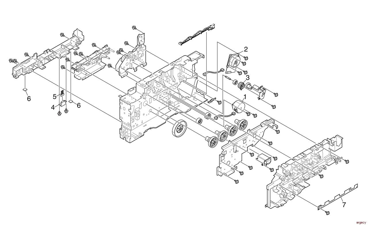 Oki Mc573 Parts