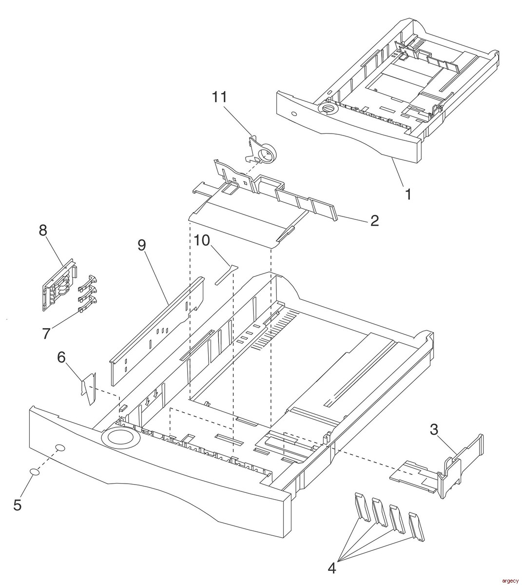 Lexmark T520 Amp T522 Parts