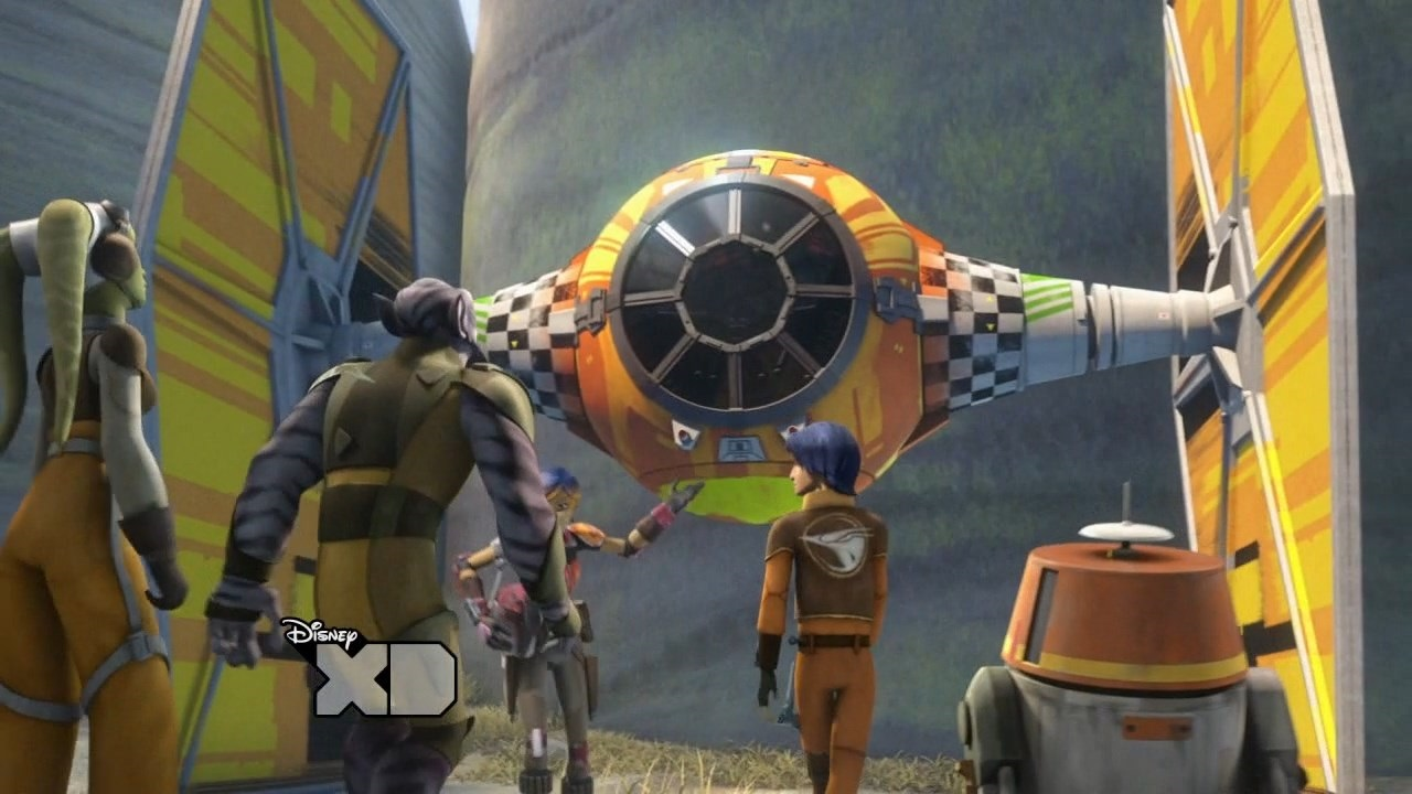 ARGENTeaM Star Wars Rebels 2014 S01E14 Fire Across The Galaxy