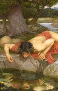 Il mito di Narciso, come altre storie mitologiche, sono esempi di racconti metaforici.