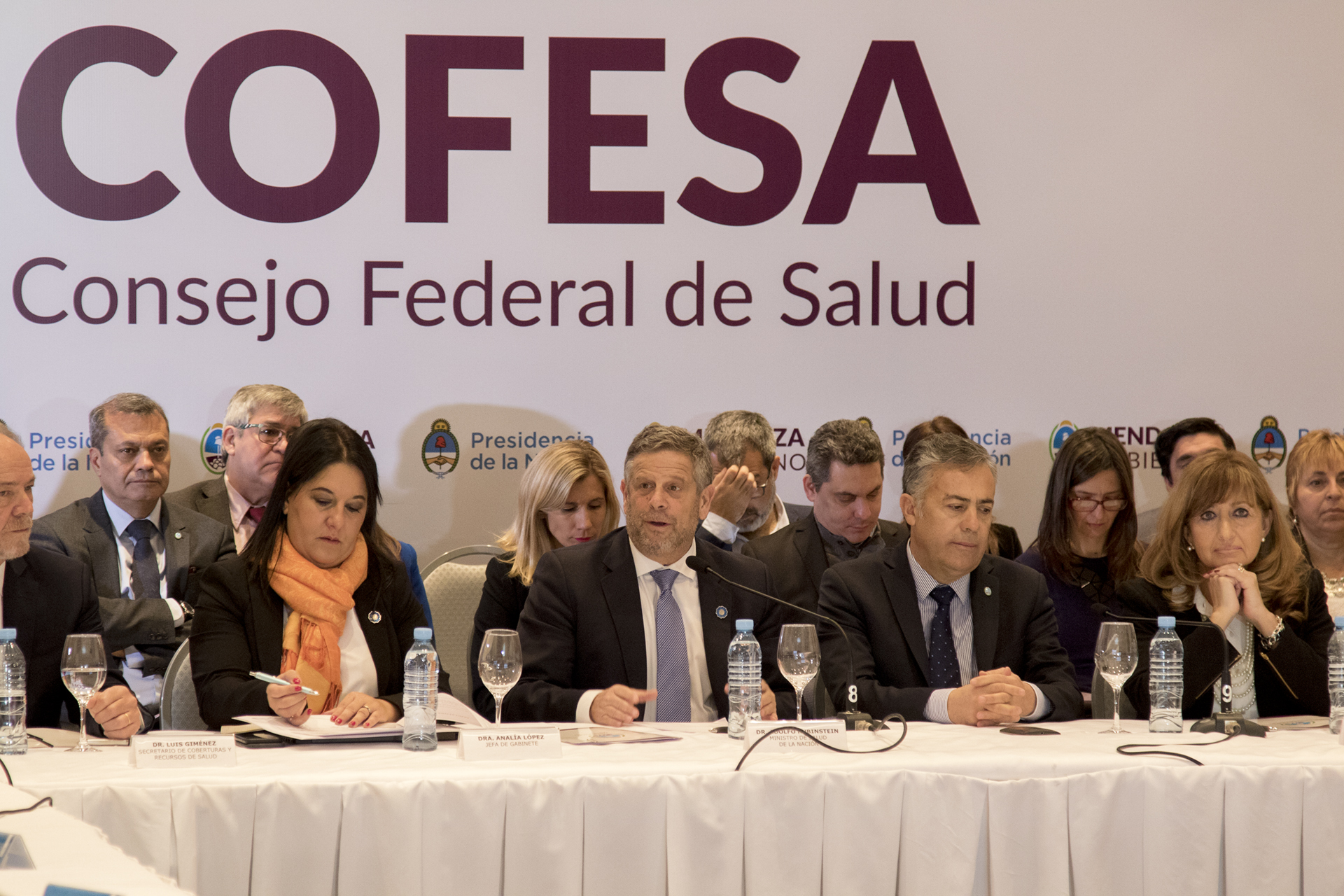 09-08-18 Apertura COFESA Mendoza