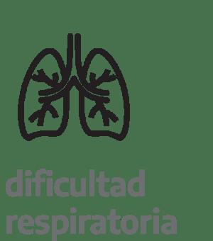 Dificultad para respirar