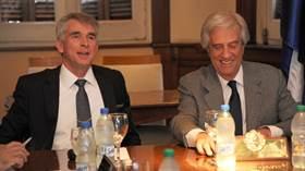 Reunión entre el Gobierno y UPM en la oficina presidencial de Suárez y Reyes