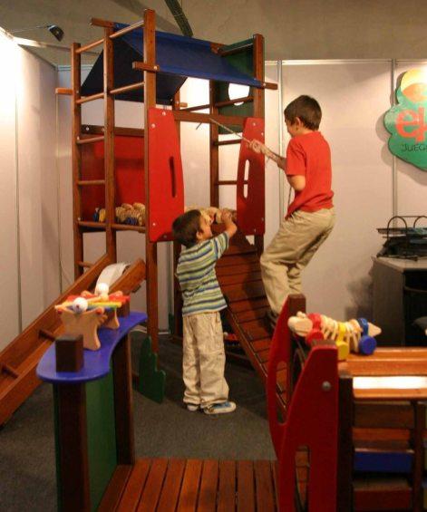 40 Niños Juegos de Madera