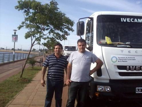 Chipeadora y camiones de recoleccion de residuos para Municipios de Misiones (1)