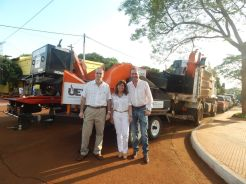 Chipeadora y camiones de recoleccion de residuos para Municipios de Misiones (2)