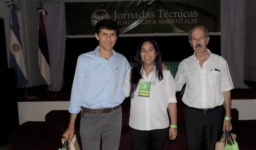 Rosana Méndez Organización de eventos forestales