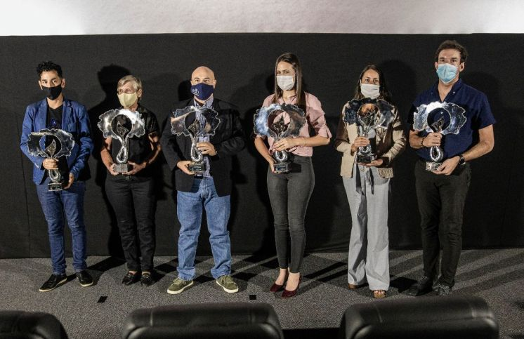 Colosos Premiacion 2020 (6 ganadores)