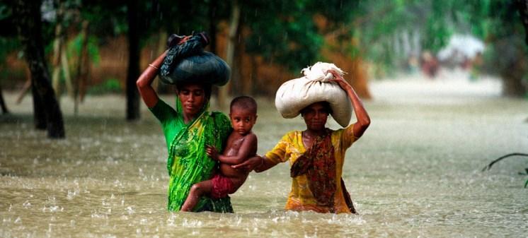 Cambio climático Inundaciones