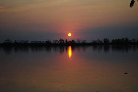 Sunset in Argentina Dorado fishing adventure