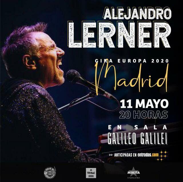 Alejandro Lerner Madrid - Juntos para siempre