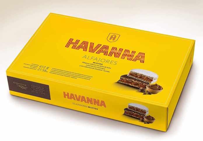 HAVANNA- Alfajores mixtos 12 unidades- 612 grs
