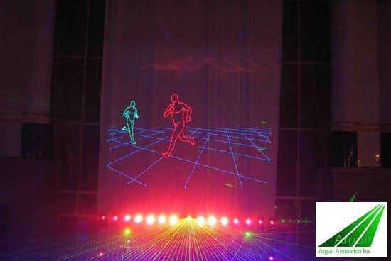 Argon-Animation-3D-Laser-Animation