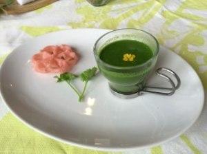 桜コース スープ