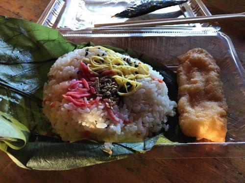 奥穂高山荘 お弁当