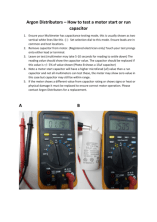 thumbnail of Argon – Start or Run Capacitor Testing