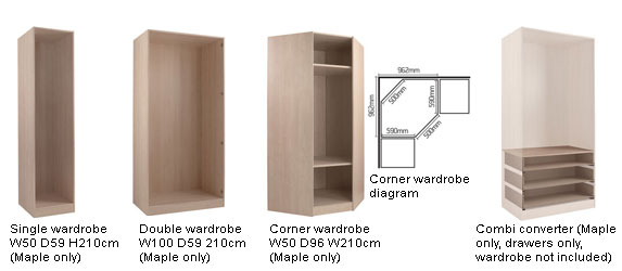 Step 2 Choose Your Wardrobe Doors And End Panels