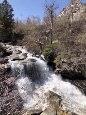 Waterfall at Thomas Creek