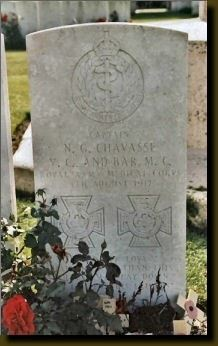 Grave of Chavasse (Credit: Wikipedia)