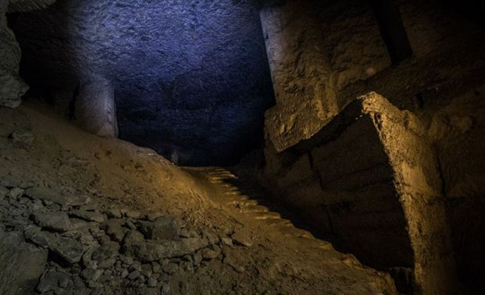 """Carriere Suzanne"", Northern France, an abandoned WW1 underground hospital established into a giant limestone quarry"